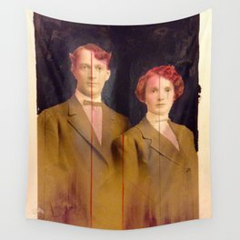 Red couple Wall Tapestry