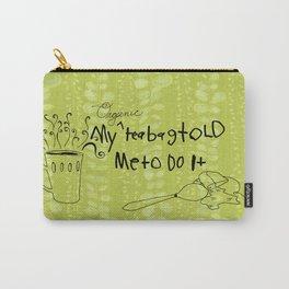 Organic Tea Bag Carry-All Pouch