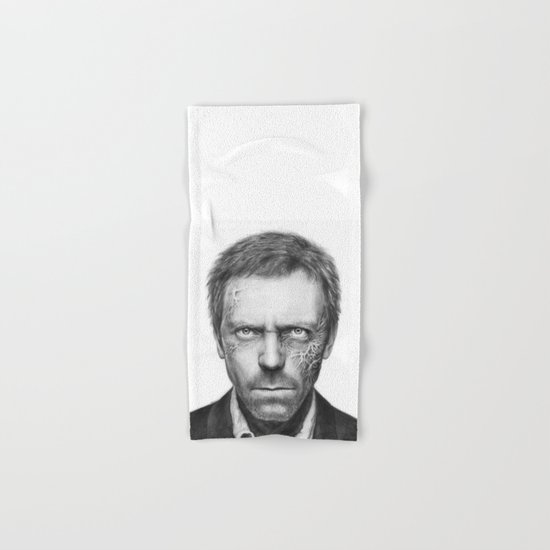 Hugh Laurie from House MD Doctor House Hand & Bath Towel