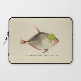 If Life Throws You a Lemon, Take It With a Fish Laptop Sleeve
