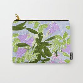 Lilac Jungle Carry-All Pouch