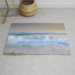 """Looking at the waves II"" Sea dreams Rug"