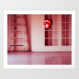 Deflated Love Art Print