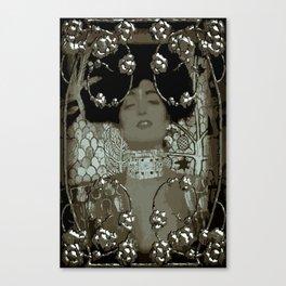 Art Nouveau Stylization/Klimt Canvas Print