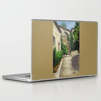 arab Laptop & iPad Skins featuring Arab Baths in Palma DP150724a by CSteenArt