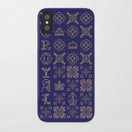 Royal [pattern] iPhone Case