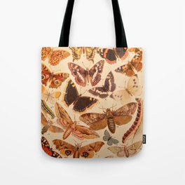 Vintage insects 1 Tote Bag