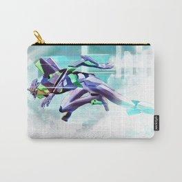 Evangelion Unit 01 - Shinji Ikari's Ride. The Digital Painting. Carry-All Pouch