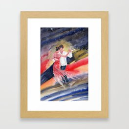 Love and Tango 2 Framed Art Print