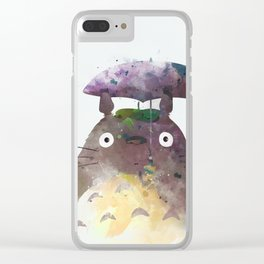 My Neighbour Clear iPhone Case