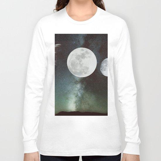 Moon phases Long Sleeve T-shirt