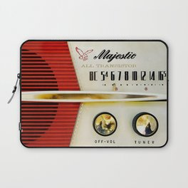 My Grand Father Classic Old vintage Radio Laptop Sleeve