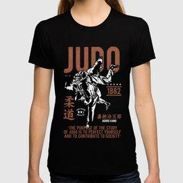 Judo, Jigoro Kano Quote T-shirt