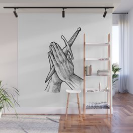 pray for your enemies Wall Mural