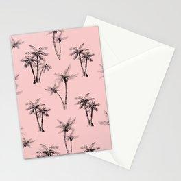 Cali Palms Pink Stationery Cards