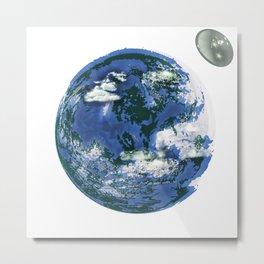 unrealistic earth. Metal Print