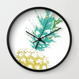 Pinnaple delight Wall Clock