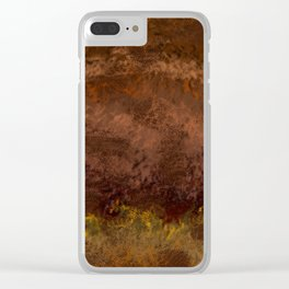The Venusian Clouds Clear iPhone Case