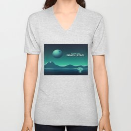 Greetings From Death Star Unisex V-Neck