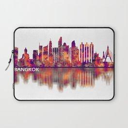 Bangkok Thailand Skyline Laptop Sleeve