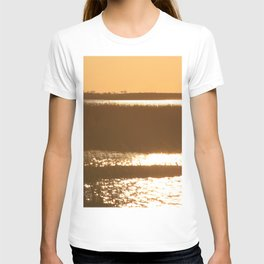 Watercolor Sunset, Janes Island 02, Maryland T-shirt