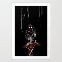 shadow Art Prints featuring Shadow by Yiji