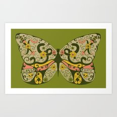 Polymorphism - colour Art Print