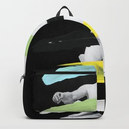 Untitled (Finger Paint 8) Backpack