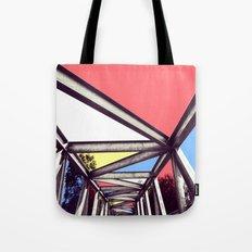 Bridge Mondrian Tote Bag