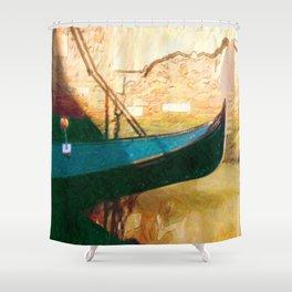 Venetian Gondola Shower Curtain