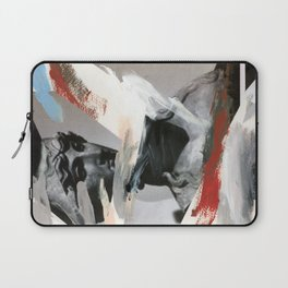 Untitled (Painted Composition 4) Laptop Sleeve