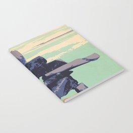 Torngat Mountains National Park Poster Notebook