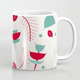 Spring floral mod ivory Coffee Mug