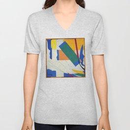 Memory of Oceania - Henri Matisse Unisex V-Neck