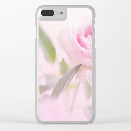 Good morning beautiful - soft mood - touch of romance - #Society6 #buyart Clear iPhone Case