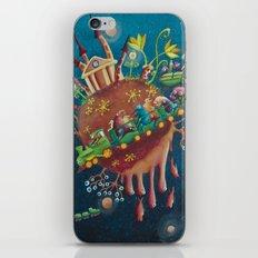 the intergalactic train iPhone & iPod Skin