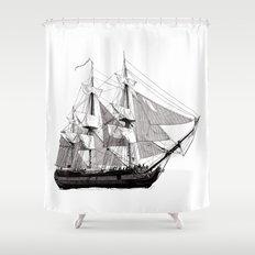 HMS Surprise Shower Curtain