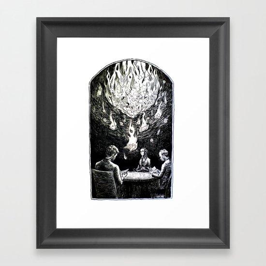 Requiem for a Story Framed Art Print