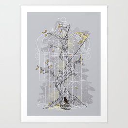 Home Confinement Art Print