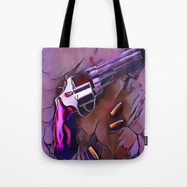 The Wheel Gun Tote Bag