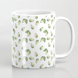 Watercolour Avocado Pattern Coffee Mug