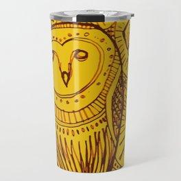 boreal owl Travel Mug