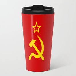 Flag of USSR Travel Mug