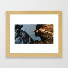 Raven Spirit Framed Art Print