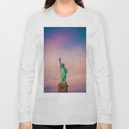 Statue of Liberty c Long Sleeve T-shirt