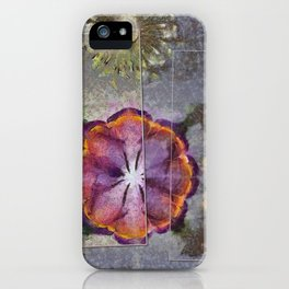 Stickball Au Naturel Flower  ID:16165-150329-07211 iPhone Case
