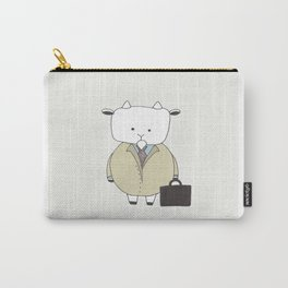 Businessman Goat - Greatest Of All Time Carry-All Pouch