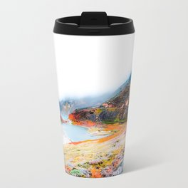 mountain with ocean view at Big Sur, California, USA Travel Mug