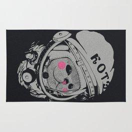 Spaceman cat Rug