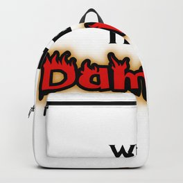 Well, I'll Be Damned! Backpack